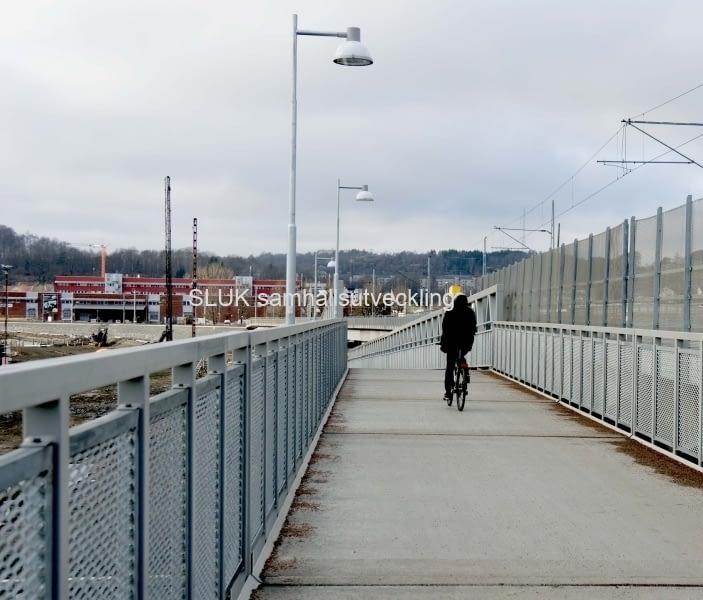 Cykling Marieholmsbron år 2017