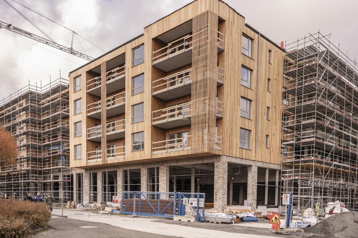I Mölnlycke centrum byggs seniorbostäderna Bontop. Det blir bostadsrätter 1-3 r o k, med preliminär inflyttning om ett år.