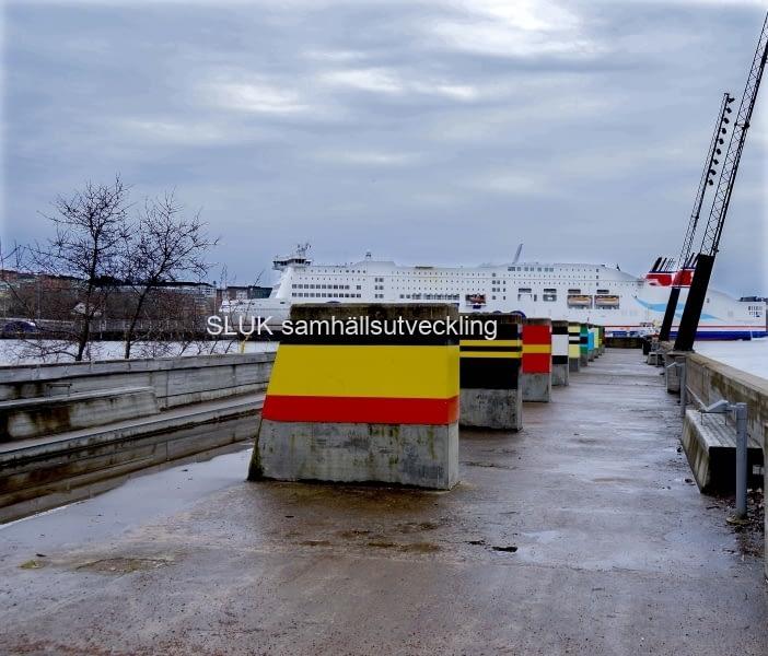 Stenabåten syns från Eriksberg år 2017