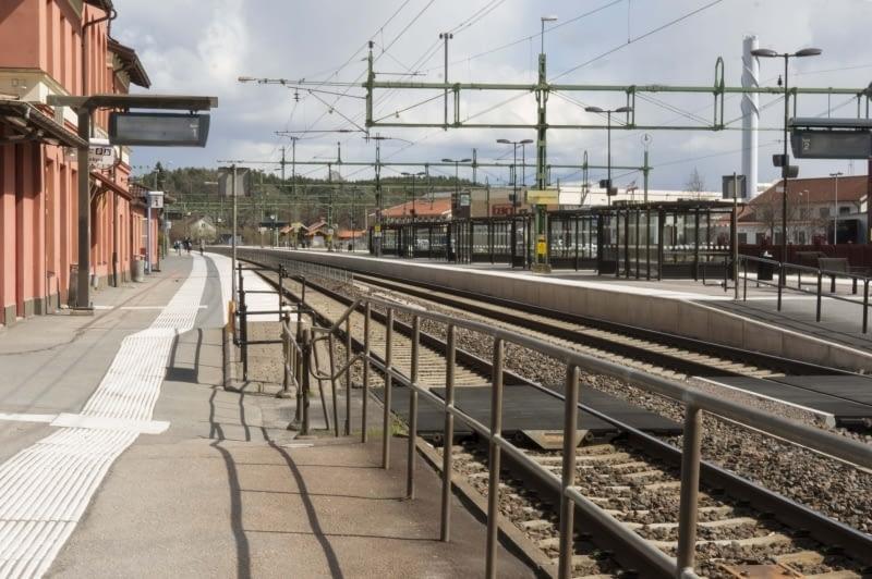 Alingsås station år 2017