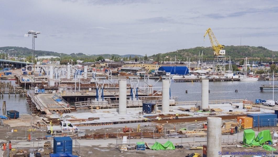 Byggnationen av Hisingsbron går vidare