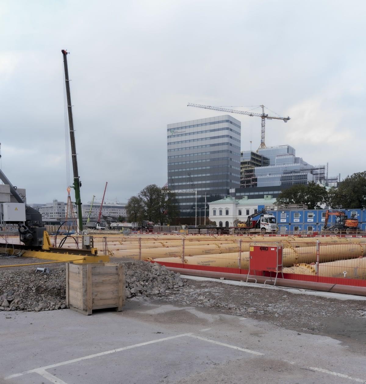En bild från Västra etableringen, som finns närmast centralen.