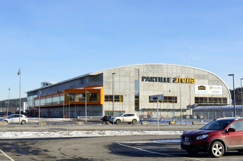 Partille Arena år 2017