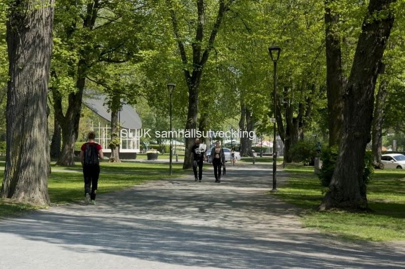 Jönköping stadspark år 2017