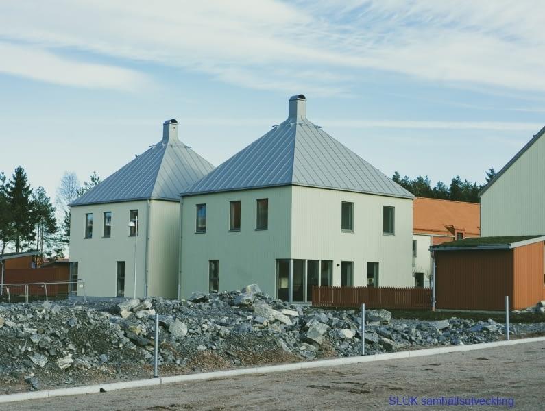 Nybyggnation i Öjersjö