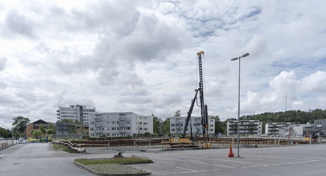 I centrala Mölnlycke byggs seniorbostäder för +55, Bontop