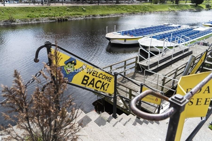 Undrar när det blir någon båttur? Välkommen tillbaka!