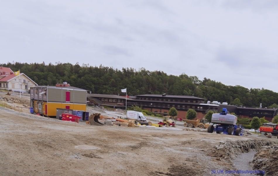 Här bygger Wallenstam nya bostäder i området Mölnlycke fabriker
