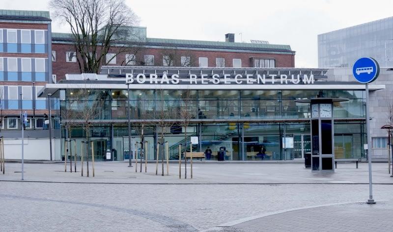 Borås resecentrum år 2017