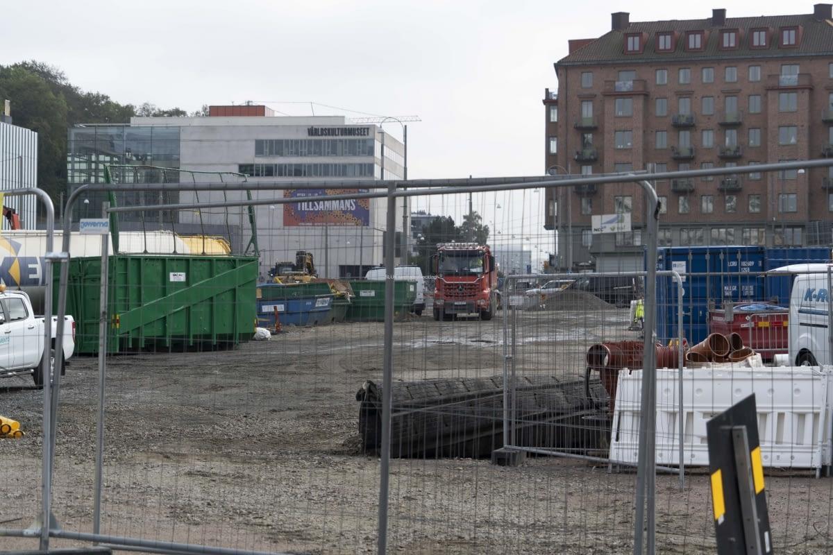 Västlänken Korsvägen.