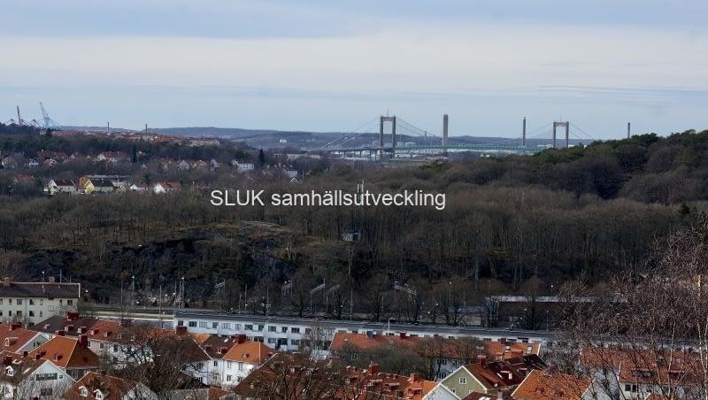 Älvsborgsbron från Botaniska år 2017