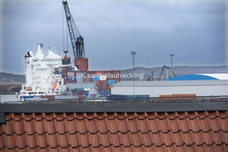 Containerfrakt Varberg år 2017