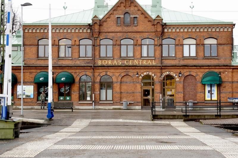 Borås station år 2017