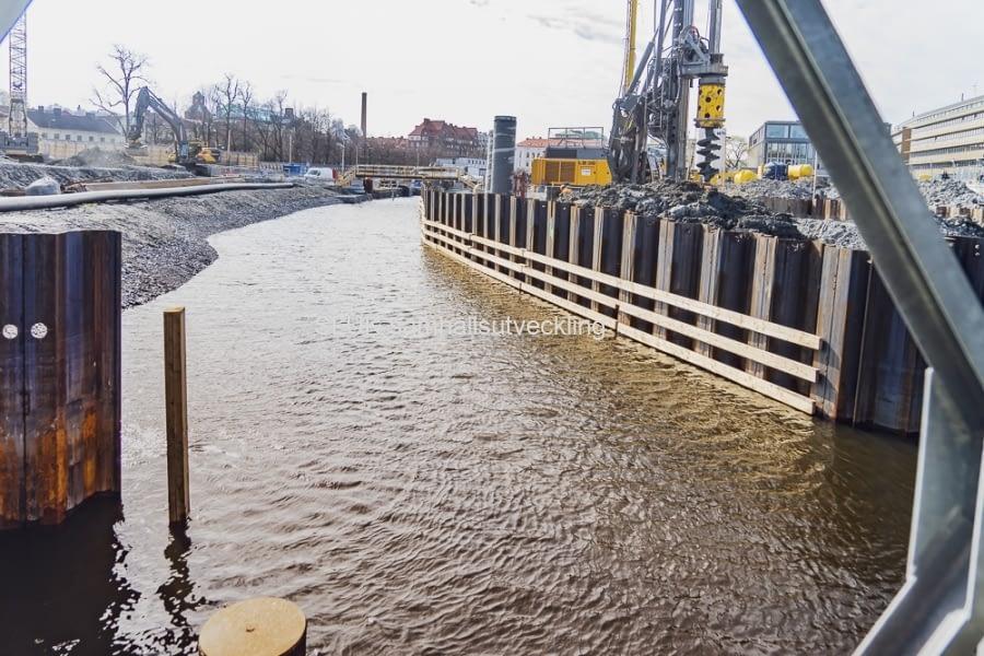 Kanalen vid Rosenlund öppnades  åter innan den 10 april, inför Paddans start på säsongen.