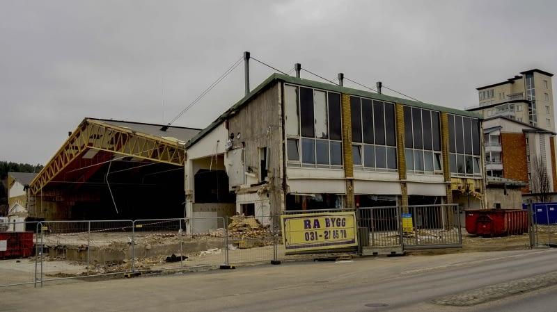 Sävehofhallen rivs år 2017