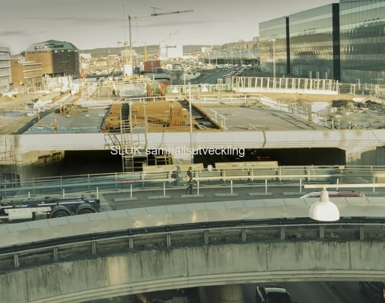 E45, Götatunneln, Överdäckning, 2019-01