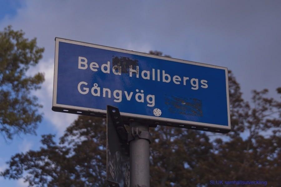 Beda Hallbergs Gångväg